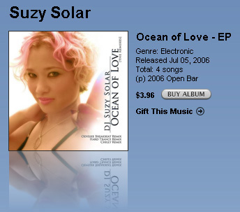 DJ Suzy Solar - Ocean Of Love on Itunes